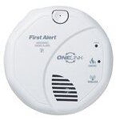 Picture of BRK-First Alert SA520B OneLink Smoke Alarm, 120V AC, Hardwired, White