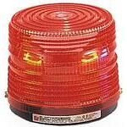 Picture of Federal Signal 141ST-120R Beacon, Strobe, Red, Voltage: 120VAC