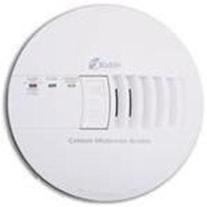 Picture of Kidde Fire 21006406 Carbon Monoxide Alarm, 120VAC, White, 9V Battery Backup