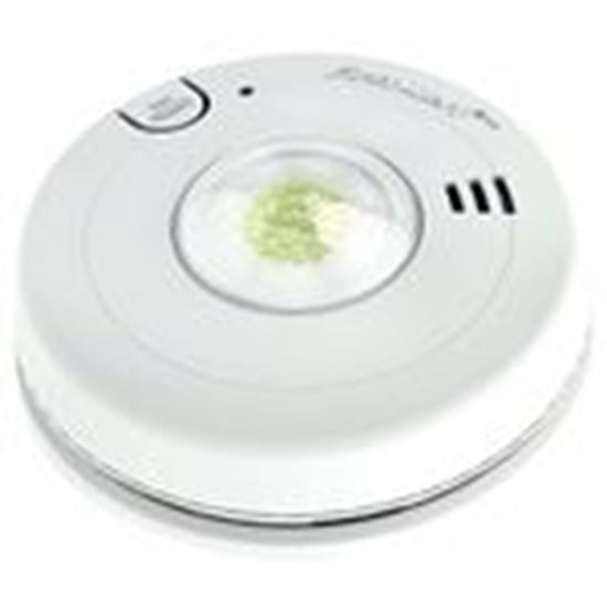 Picture of BRK-First Alert 1038335 Photoelectric Smoke Alarm & LED Strobe, 120VAC, Lithium Battery Backup