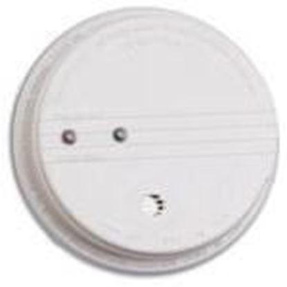Picture of Kidde Fire 21006371 Photoelectric Smoke Alarm, 120V AC, 9V Battery Backup, White