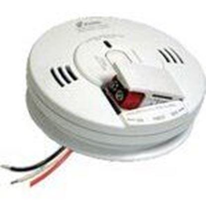 Picture of Kidde Fire 21007624 Smoke & Carbon Monoxide Alarm, Hardwired, Battery Backup