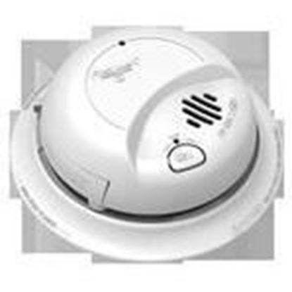 Picture of BRK-First Alert 9120LBL Smoke Alarm, Dual Ionization, 120V AC, 9V Battery Backup
