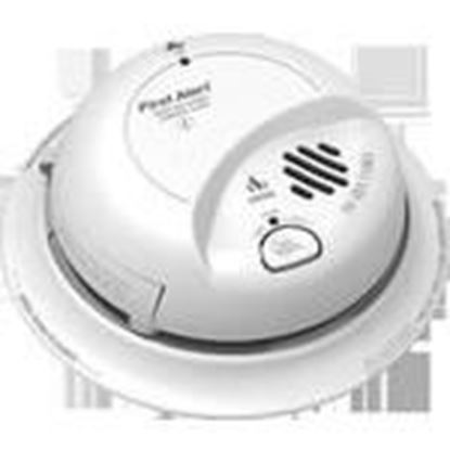 Picture of BRK-First Alert SC9120LBL Carbon Monoxide & Smoke Alarm, 120V AC, 9V Battery Backup