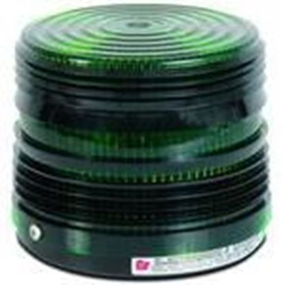 Picture of Federal Signal 141ST-120G 120V Strobe Beacon, Green