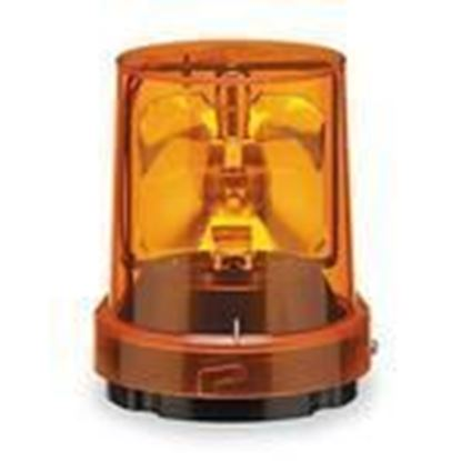 Picture of Federal Signal 121S-120A Beacon, Rotating, Incandescent, Amber