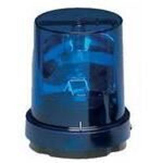 Picture of Federal Signal 121S-120B Beacon, Rotating, Incandescent, Blue, Voltage: 120V AC
