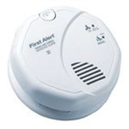 Picture of BRK-First Alert SC7010B Smoke & Carbon Monoxide Alarm, Hardwired, Battery Backup