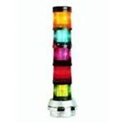 Picture of Edwards 101FINHA-N5 Stack Light, Flashing, Amber