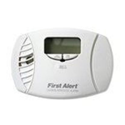 Picture of BRK-First Alert CO615B Carbon Monoxide Alarm, Plug-In, AA Battery Backup