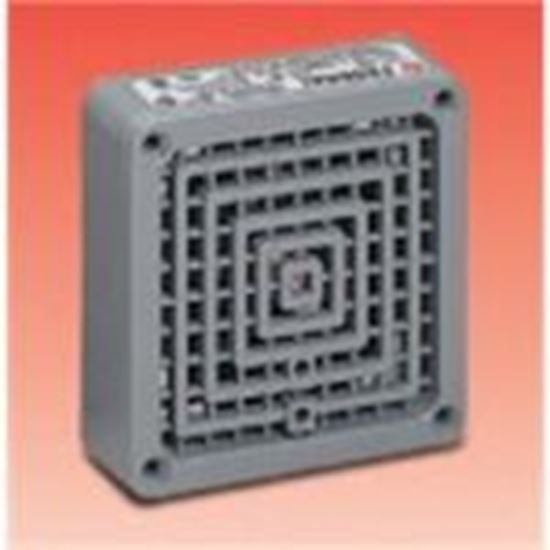 """Picture of Federal Signal WB-NM Weatherproof Back Box, Neoprene Gasket, 1/2"""" & 3/4"""" Knockouts"""
