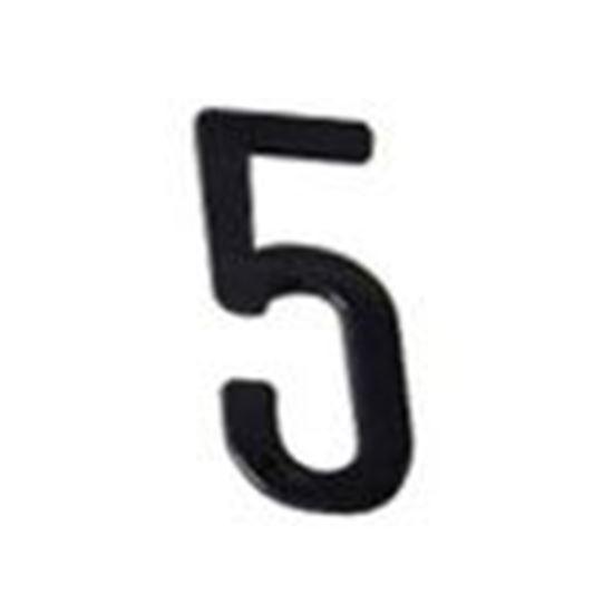 """Picture of Aero-Lite NUM6 #5 6"""" Number """"5"""""""