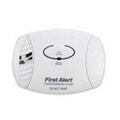 Picture of BRK-First Alert CO605B Carbon Monoxide Alarm, Plug-In, 9V Battery Backup