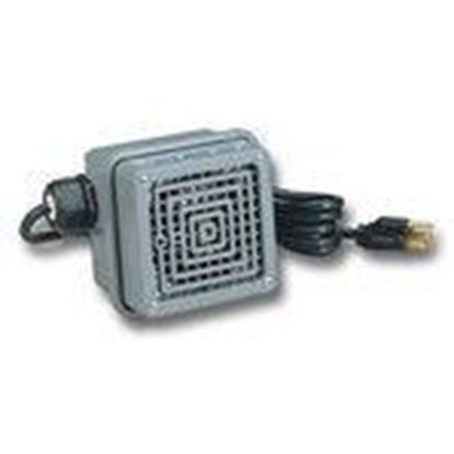 Picture of Federal Signal TELH-120 Telephone Extension Ringer Device, 120VAC, Wall Mount, 6' Power Cord