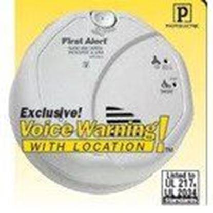 Picture of BRK-First Alert SC7010BV Smoke & Carbon Monoxide Alarm, 120V, (2) AA Battery Backup