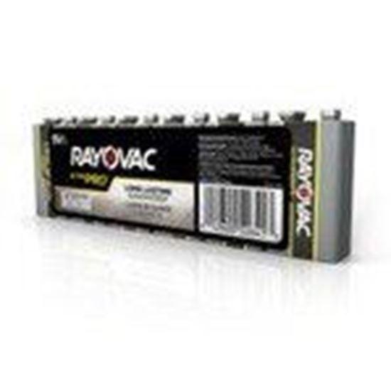 Picture of Rayovac AL9V-6J Alkaline Shrink-Wrapped Batteries, 9V, 6 Pack