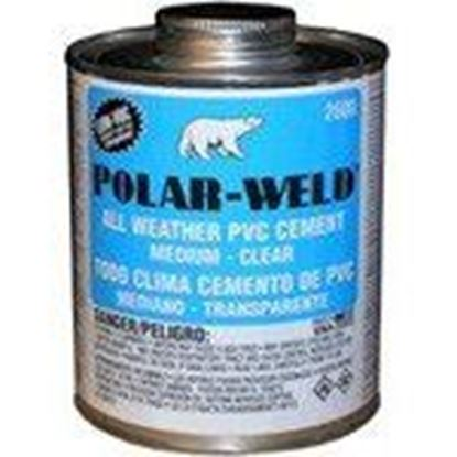 Picture of Morris Products G2636S All Weather Cement - Clear, 1-Quart