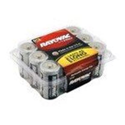 Picture of Rayovac ALD-12PPJ 1.5V D Battery - 12-Pack