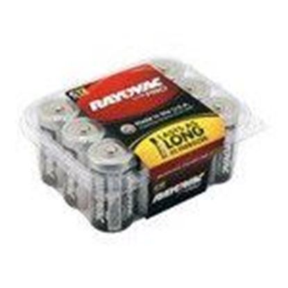 Picture of Rayovac ALC-12PPJ 1.5V C Battery - 12-Pack