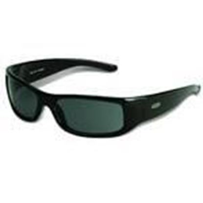 Picture of 3M 11215-00000-20 Moon Dawg Protective Eyewear, Anti-Fog Gray Lens, Black Frame