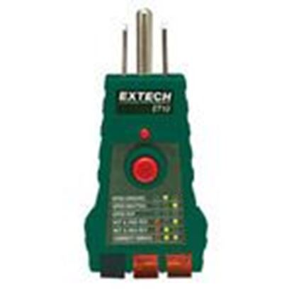 Picture of Extech ET10 GFCI Receptacle Tester