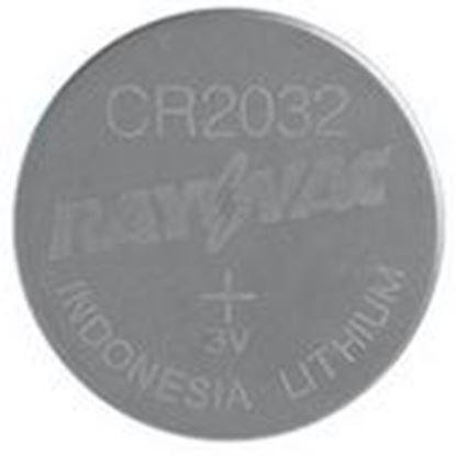 Picture of Rayovac KECR2032-1G Lithium Keyless Entry Battery, 3V, 2032