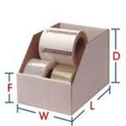 """Picture of BIN-Box B-18 Self-Locking Bin Box - Dimensions: 18""""L x 6""""W x 4-1/2""""H"""