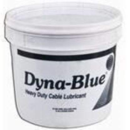 Picture of American Polywater D-128 Dyna-Blue® Heavy Duty Cable Pulling Lubricant - 1 Gallon Pail