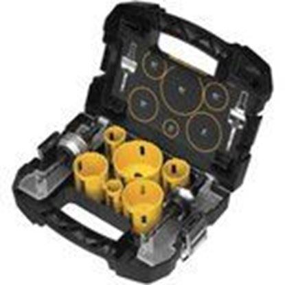 Picture of DEWALT D180002 9 Piece Electrician's Hole Saw Kit