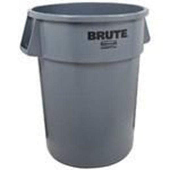 Picture of Rubbermaid FG263200GRAY 32 Gal. Garbage Can