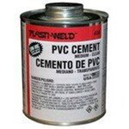 Picture of Morris Products G40424 PVC Cement - Clear, 1 Gallon