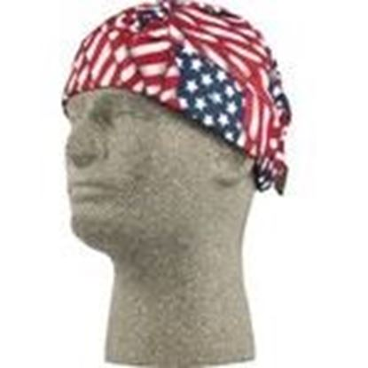 Picture of Lift Safety ACB-15F Cooling Beanie, American Flag