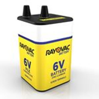 Picture of Rayovac 945R4C Lantern Battery, 6V, Zinc Carbon