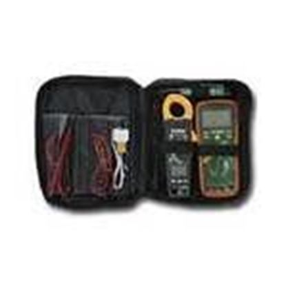 Picture of Extech TK430 Electrical Test Kit, w/ True RMS Multimeter and Clamp Meter