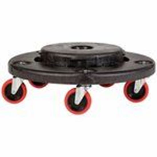 Picture of Rubbermaid FG264000BLA Garbage Can Dolly