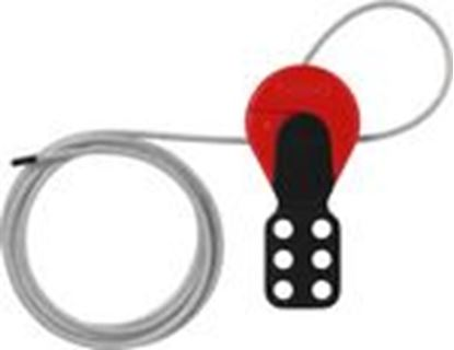 Picture of Abus 00348 6ft Long Universal Lockout Cable.