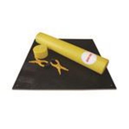 Picture of Cementex BLK-C2 Insulating Rubber Blanket, 20 kv, Black