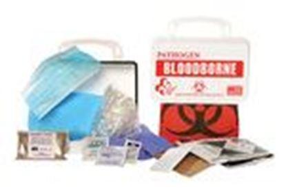Picture of Certified Safety Mfg. FK200-970 Bloodborne Pathogen Economy 10, Poly White