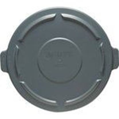 Picture of Rubbermaid FG264560GRAY 43 Gal. Garbage Can Lid