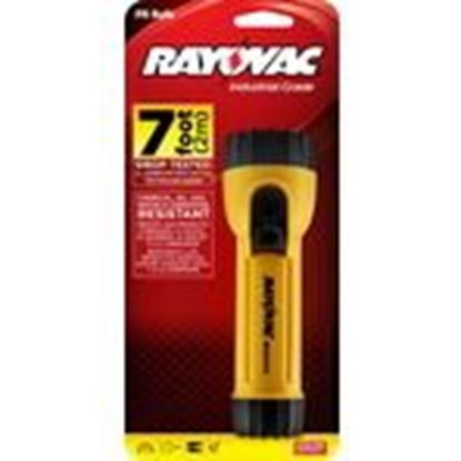 Picture of Rayovac WHH2D-A Industrial Safety Flashlight, Yellow, 2-Cell, D Size