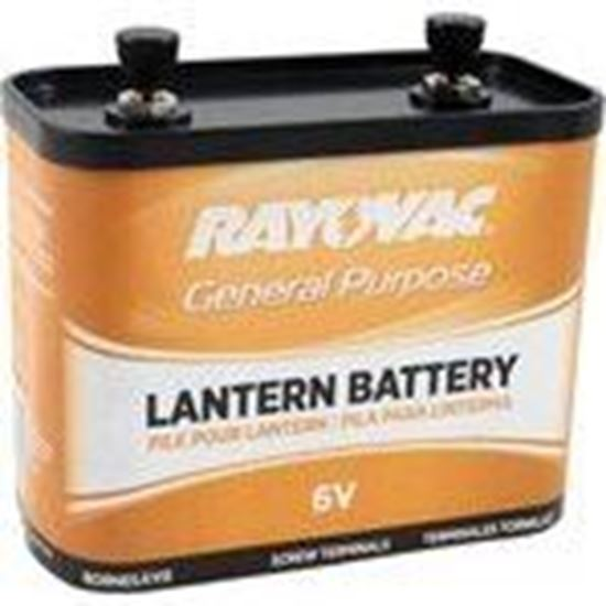 Picture of Rayovac 918C 6V Lantern Battery, Limited Quantities Available