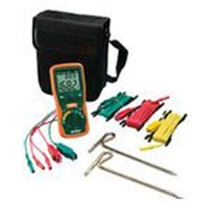Picture of Extech 382252 Earth Ground Resistance Test Kit