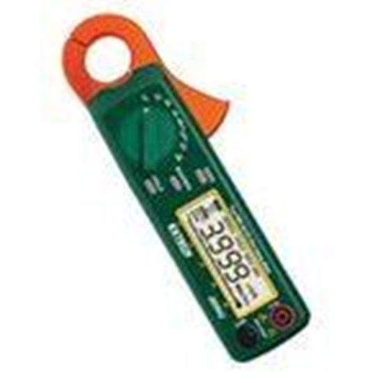 Picture of Extech 380942 AC/DC Clamp on Meter, Miniature, True RMS