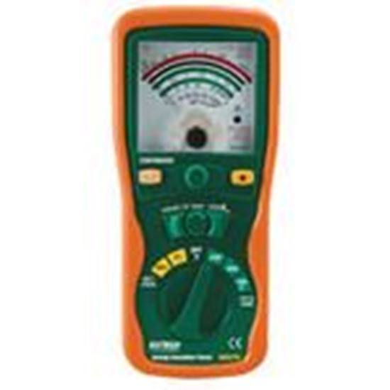 Picture of Extech 380320 Insulation Tester, Analog/Manual Ranging