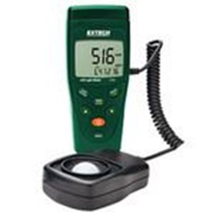 """Picture of Extech LT45 LED Light Meter, LCD Display, w/ 59"""" Cable Extension"""
