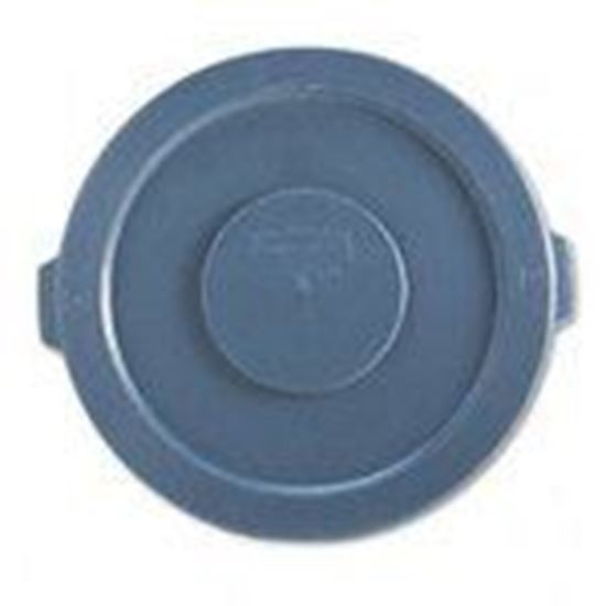 Picture of Rubbermaid FG263100GRAY 32 Gal. Garbage Can Lid