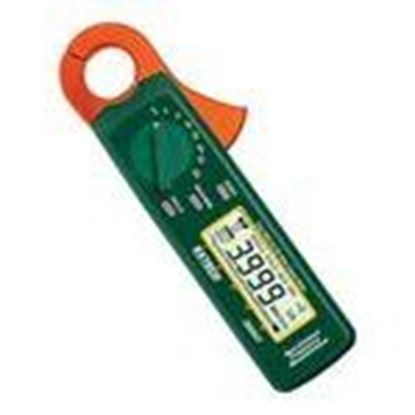 Picture of Extech 380947 AC/DC Clamp on Meter, Miniature, True RMS