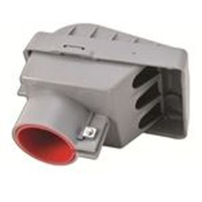 "Picture of 12PWH 1/2"" PVC Service Entrance Cap"