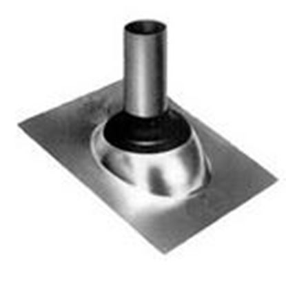 """Picture of Morris Products G11866 Roof Flashing, Neoprene Collar, 3"""""""