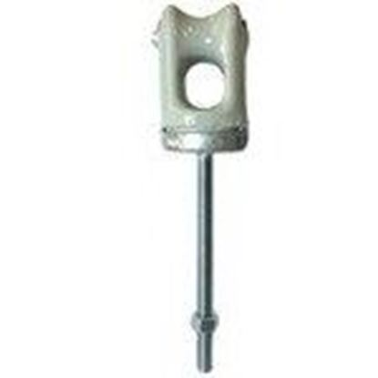 Picture of PPC Insulators 1996 Insulated Wireholder, Type: Bolt and Nut, Porcelain Insulator